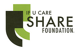 If U share Foundation logo